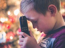 children memorise scripture